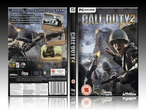 Call of Duty 2: Excellent 3D War Game, Highly Compressed
